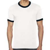 Unisex Poly-Cotton S/S Ringer T-Shirt