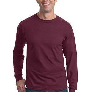 HD Cotton ™ 100% Cotton Long Sleeve T Shirt Thumbnail