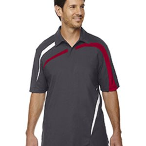 Men's Impact Performance Polyester Piqué Colorblock Polo Thumbnail