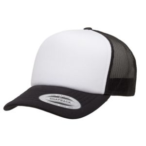 Foam Trucker Cap with Curved Visor Thumbnail
