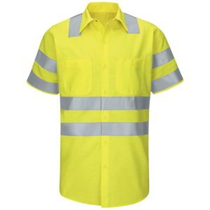 Enhanced & Hi-Visibility Work Shirt - Long Sizes Thumbnail