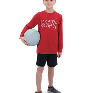 Youth Attain Wicking Long Sleeve Shirt Thumbnail
