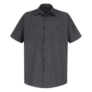 Premium Short Sleeve Work Shirt Long Sizes Thumbnail