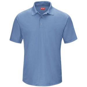 Short Sleeve Performance Knit Gripper-Front Polo Thumbnail